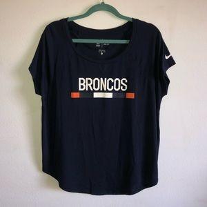 💕 Cute Broncos Dri-Fit Tee!